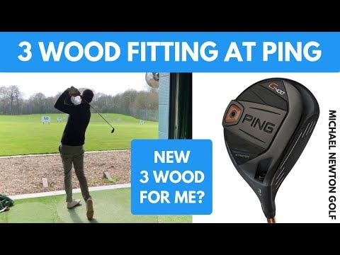 My 3 Wood Fitting At PING Fitting Centre