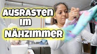 Chaos im Nähzimmer - Ausgerastet beim Nähen - Vlog#1023 Rosislife