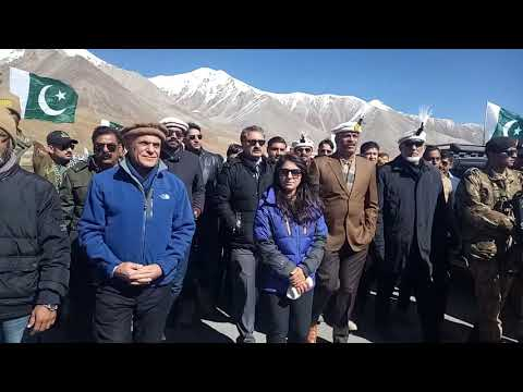 Pakistan Car rally from Khunjarab pass Gilgit Baltistan  to Gawadar Balochistan
