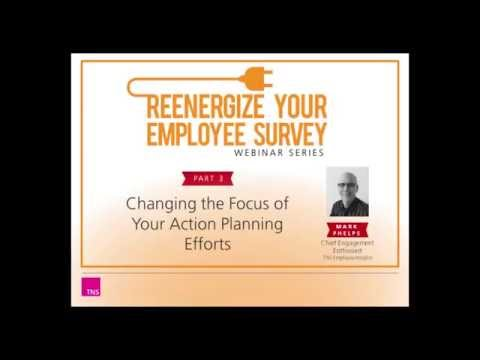 Renergize Your Employee Survey Part 3 - Creating Better Action Plans