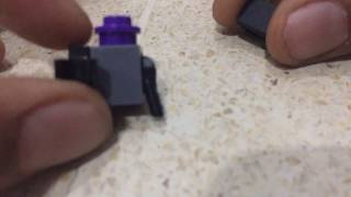How to build a lego mini soldier