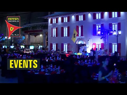 Your Special Event at Ferrari World Abu Dhabi