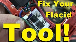 How to fix fancy electronics in newer tools.