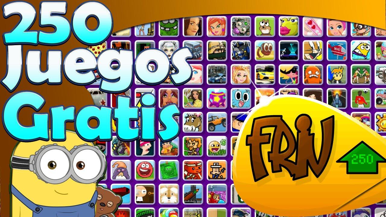 250 Juegos Online Gratis En Friv Youtube