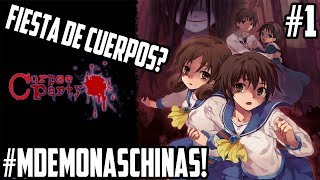 ¿FIESTA DE CUERPOS? - CORPSE PARTY #1 EN VIVO! - #MartesconMdeMonaschinas - #ZeroTG