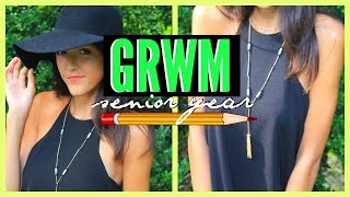 Get Ready With Me First Day of School || Senior Year + GIVEAWAY!!