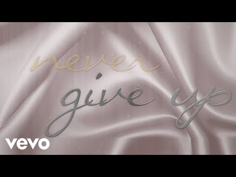 Whitney Houston - Never Give Up (Official Lyric Video)