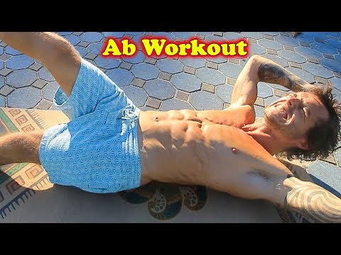 INTENSE BEGINNER SIX PACK AB HOME WORKOUT – NO EQUIPMENT NEEDED