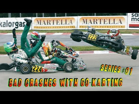 Bad Crashes With Go Karting - Series #01