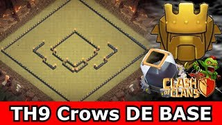 Clash of Clans - BEST AIR SWEEPER TOWNHALL 9 (TH9) FARMING BASE!