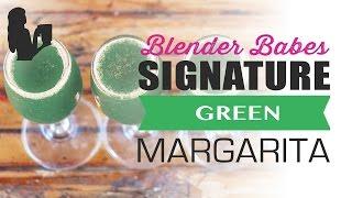 Green Margarita Recipe Healthy Surprise By Blender Babes