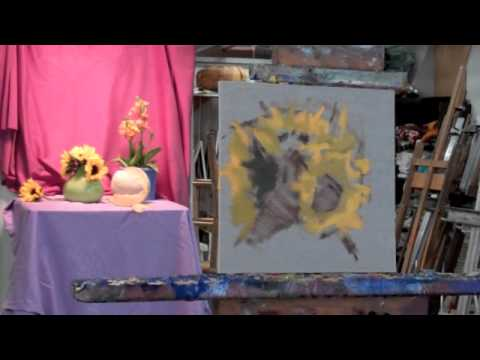 Painting Flowers in Oil — The Art League School