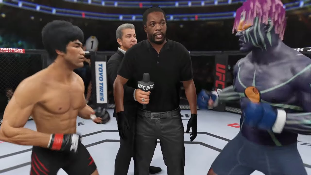 UFC 4 | Bruce Lee vs. Onepunchman Lord (EA Sports UFC 4)