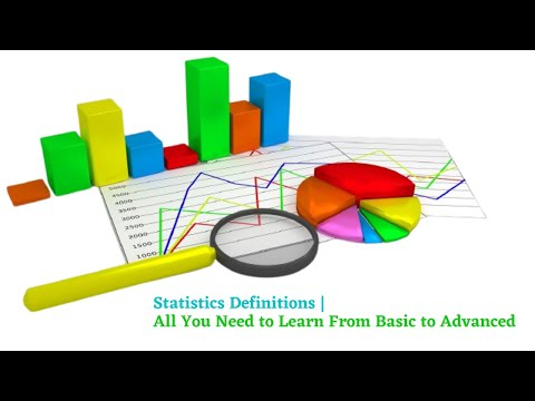 Statistics Definitions | All You Need to Learn From Basic to Advanced
