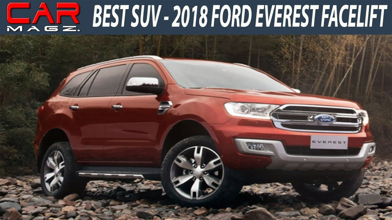Ford Everest Usa >> 2018 Ford Everest USA Facelift Specs and Price - YouTube