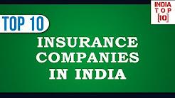 Top Ten Insurance companies in India || India Top Ten