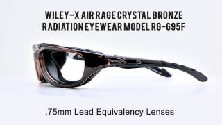 a0e5bf9e91 Phillips Safety Radiation Wiley X AirRage Crystal Bronze ...