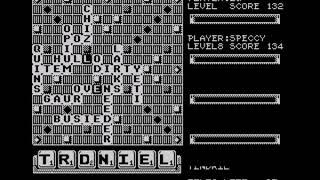 Scrabble DeLuxe Walkthrough, ZX Spectrum