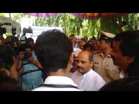 LATEST ON-Residents doctors strike @ mmcri mysore