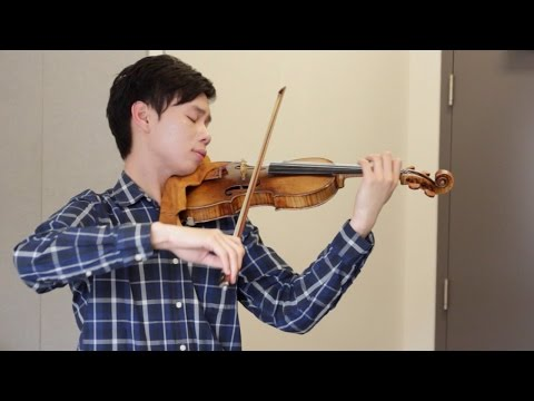 A violin's personality: Timothy Chooi and his 1729 Guarneri del Gesù