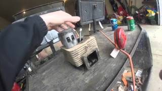how to ezgo golf cart engine rebuild 2 cycle