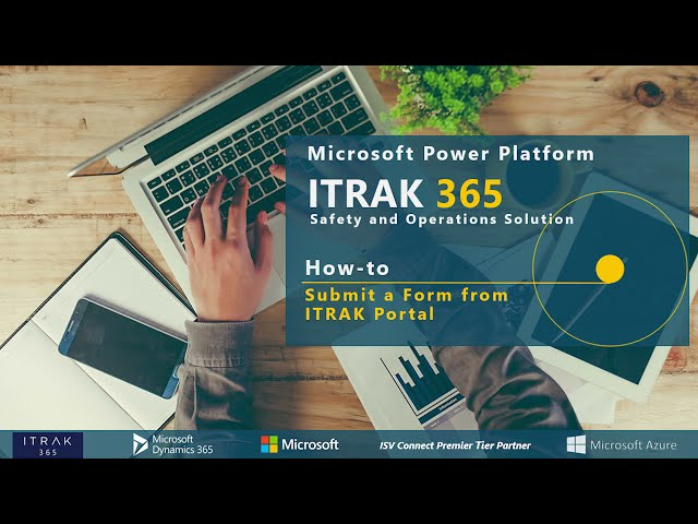 How-To: Submit a Form on ITRAK Portal