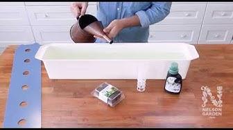 Pääset alkuun 10 minuutissa! – Harvy, hydroponinen kasvatuslaatikko