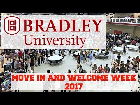 Bradley University Move in + Welcome Week Vlog 2017