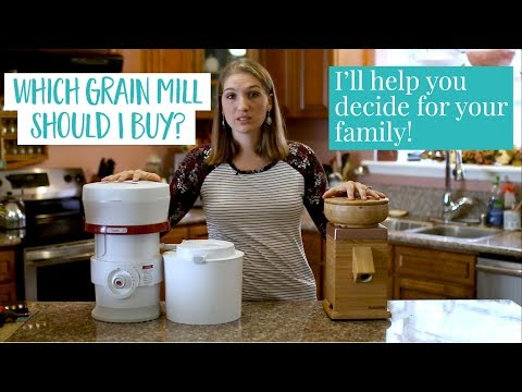 How To Choose The Right Grain Mill For Your Family - Baking With Jami Episode 2