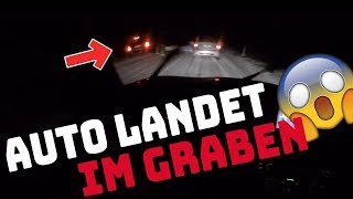 DRIFT ACTION | AUTO LANDET IM GRABEN! | AutoVlog