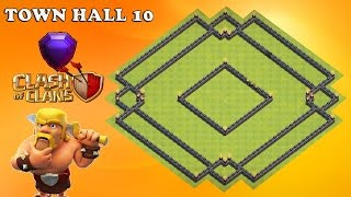 Clash Of Clans - TOP  TH10 Trophy BASE 2016!
