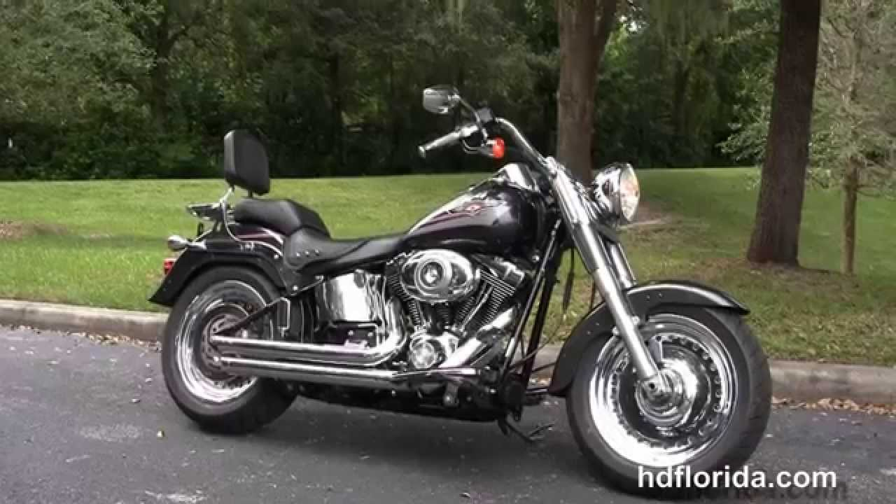 Used 2007 Harley Davidson Fat Boy Motorcycles for sale - YouTube