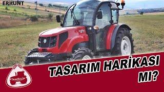 Tasarım Harikası Traktör Kabini   Erkunt Traktör Kabinli Meyveci Serisi