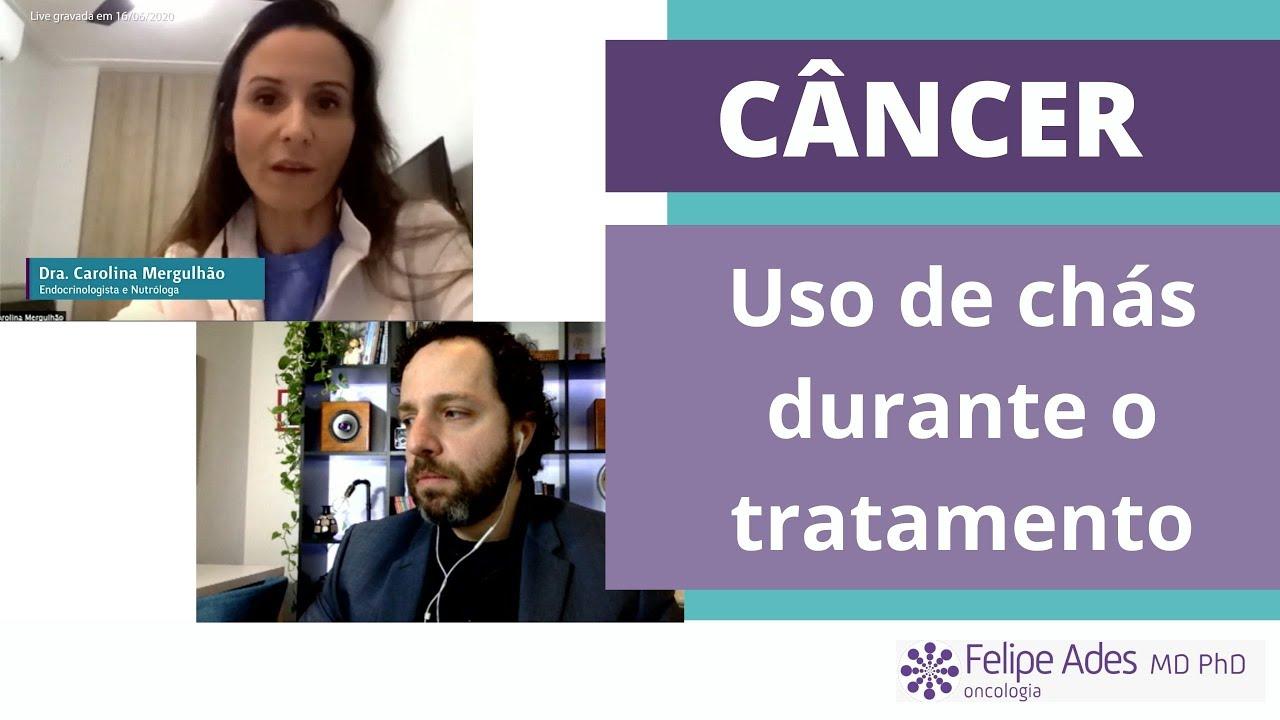 CÂNCER | Chás durante o tratamento com quimioterapia