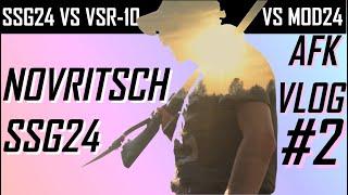 NOVRITSCH SSG24 VS. MOJA STUNINGOWANA TM VSR! 100m ZASIĘGU? AFK VLOG #2 [ENG CC]