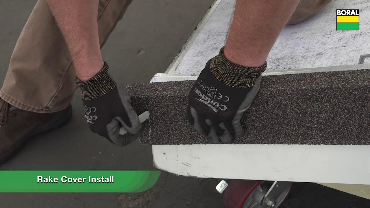 Chapter 2 Boral Steel Granite Ridge Direct To Deck Installation Underlayment Perimeter Metals Youtube
