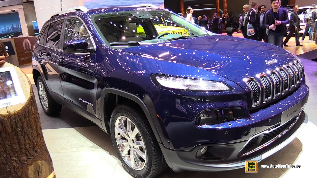 2015 jeep cherokee limited diesel - exterior and interior
