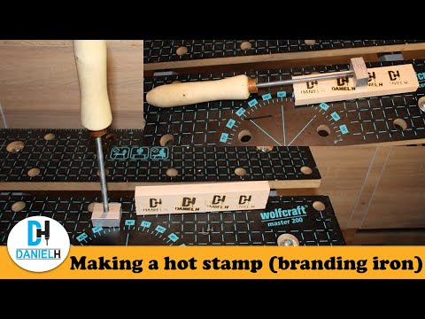 How I made a heat Stamp (Branding Iron) DIY