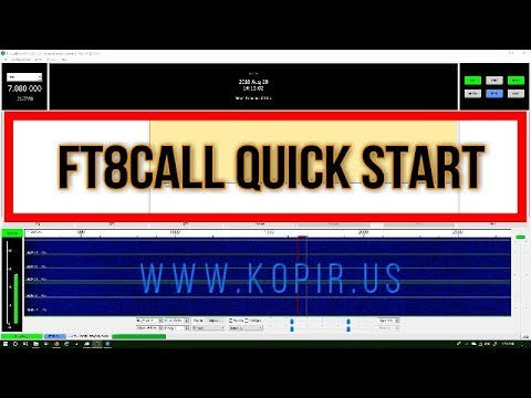 FT8Call Quick Start Guide Basics Calling CQ and QSO