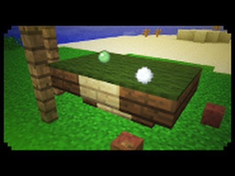 ✓ Minecraft: How To Make A Pool Table (Improved Version)   YouTube