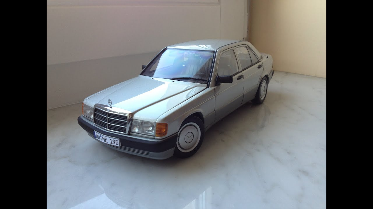 Mercedes benz 190e 2 0 autoart 1 18 diecast model car for Mercedes benz toy car models