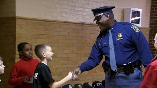 "11-year-old throws ""Thank You"" party for police"