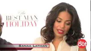Nia Long says she PUNCHED Sanaa Lathan on set of Best Man Holiday!