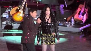 "CHER: ""Bang Bang"" feat Gianni Morandi live @ Arena di Verona"