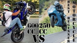 Best Beginner Motorcycle 250cc vs 600cc
