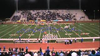 """Southwood Marching Band 2011 Contest Show """"Latin & Lagniappe""""/ Director of Bands: Mr. Lennard Holden"""