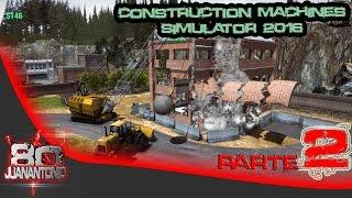 Construction Machines Simulator 2016 parte 2
