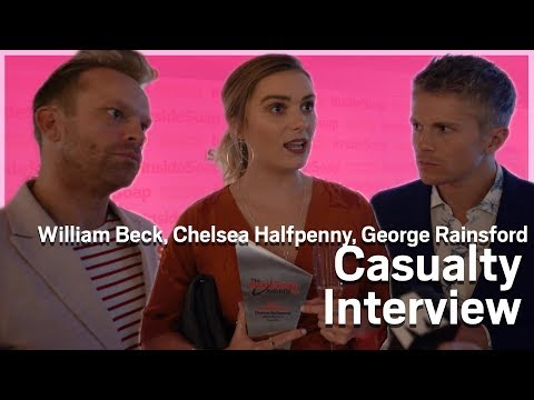 Casualty's Alicia, Ethan and Dylan Inside Soap Awards Interview | Metro.co.uk