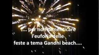 Gandhi beach  feste in spiaggia.wmv