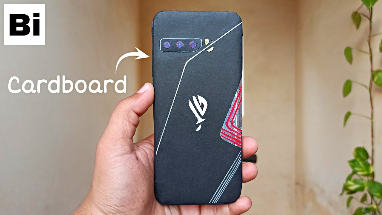 Asus ROG Phone 3 From Cardboard | How to Make